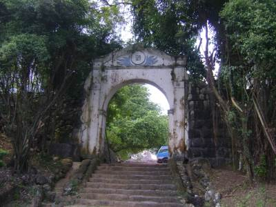 Ratnapura Dutch Fort - The entrance to the Fort facing town