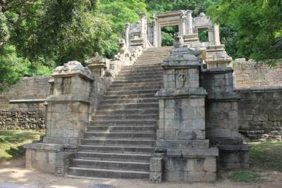Third stairway and wahalkada, the masterpiece.