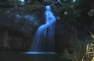 Meddekanda Falls-photographs are not much clear as surrounding was dark