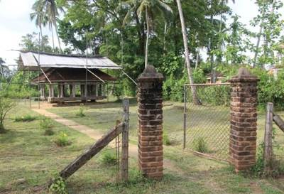 Entrance and Ambalama