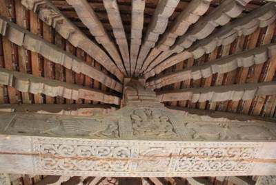 Wonderful structure with carvings