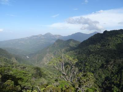 Appalla Pathana in the foreground and Belumgala to the right