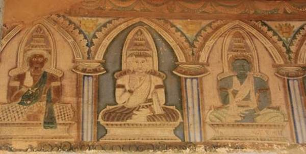 Outer wall paintings