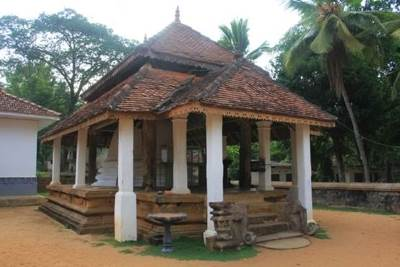 Chethiyagharaya, the in house stupa of Wijayasunderaramaya