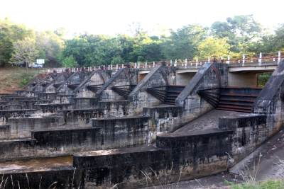Nine doors of Kaudulla Tank-දොර නමය