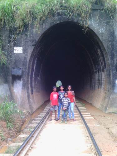 Into tunnel No: 42