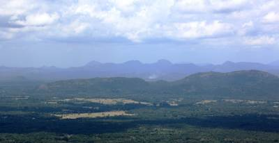Peaks around Matale and Dambulla
