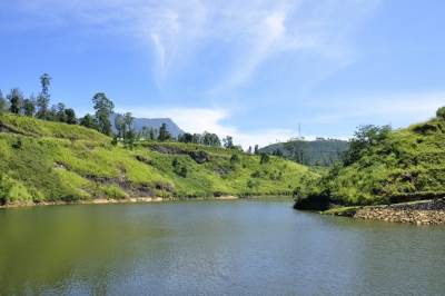Upper Kothmale reservoir