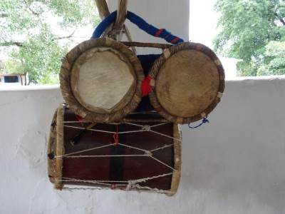 Two different drums for the festivals