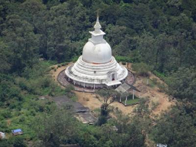 Peace Pagoda once again