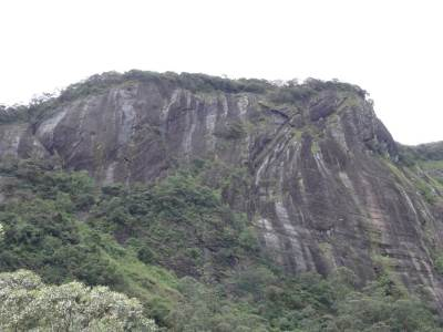 Rocky Hill to the right of Yaka Andu Ella