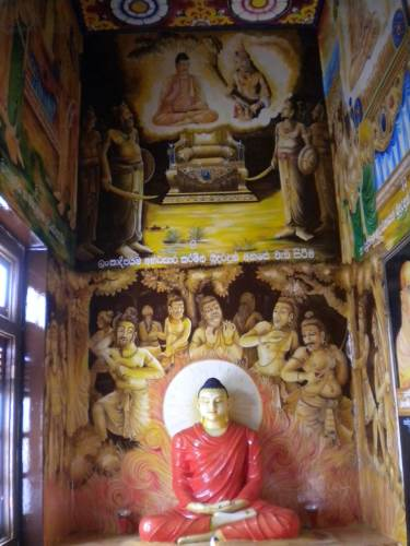 INSIDE THE VIHARA GEYA