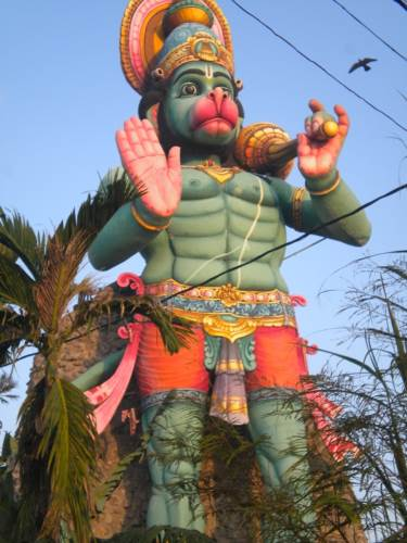 LARGEST HANUMAN STATUE IN SRI LANKA