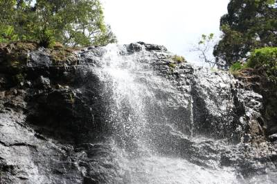 Top of the waterfall