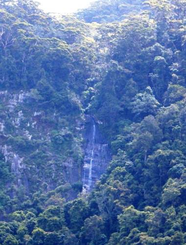 Garandi Rikili Falls-Distance view from main road
