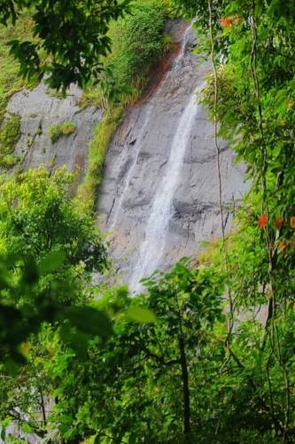 Upper part of Garandi Rikili Falls